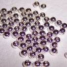 4mm Round Beads 1.5mm hole STERLING SILVER q.50
