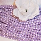 "Fresh Water RICE PEARLS 4-6mm LAVENDER 16"" Strand"