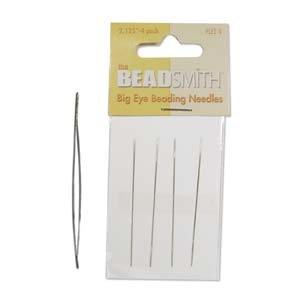 BIG EYE Beading Needles 2 inch 4 pack