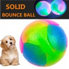 Safe Durable Fun Dog Chew Toys for Healthy Chewing .pack of 3 balls.