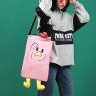 Creative duck foot bag  vitality girl canvas cross body bag  girl shoulder bag [good size]