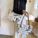 Simple and elegant and Good sized ,canvas handbag shoulder bags. good size.