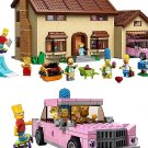 2,575 pieces The Simpsons House building blocks educational toy