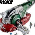 2,067 pieces 20th anniversary Star Wars Slave I Ship building blocks educational toy