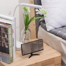 Alarm Clock - Frameless Mirror Time Date Temperature Touch Control Digital LED