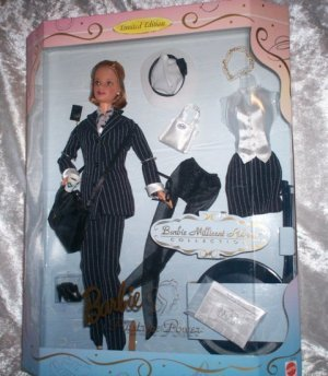 BARBIE MILLICENT ROBERTS PINSTRIPE POWER