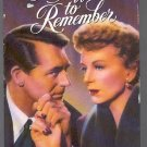 CARY GRANT IN AN AFFAIR TO REMEMBER ~VHS