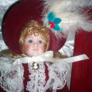 "DORATHY 16"" PORCELAIN DYNASTY DOLL ~ COMPLETE WITH BOX"