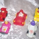 TURBO MACS AND FAST MACS HAPPY MEAL TOYS