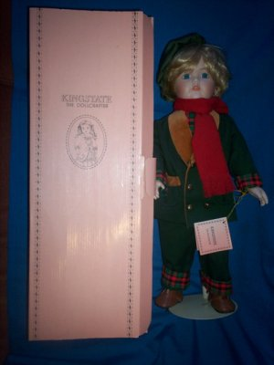 NORMAN ~ KINGSTATE DOLL ~ COMPLETE WITH BOX