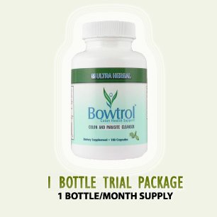 Bowtrol - NATURAL COLON CLEANSING (1 Bottle Trial)