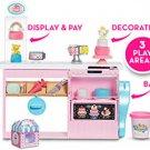 Barbie Cake Decorating Play set Blonde Baker Doll Kid Toy Gift