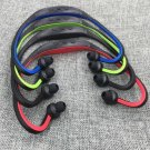 Sport Bluetooth Earphone With SD Card Slot in 4 colors RED,BLUE,Green and BLACK PLEASE CHOOSE COLOR