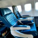 DELTA MD90 First Class seats