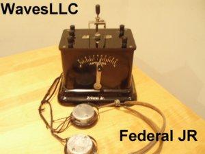 Federal Jr Crystal Radio circa 1921