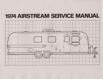 1974 Airstream  Factory Service Manual