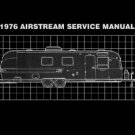 1976 Airstream Factory Service Manual