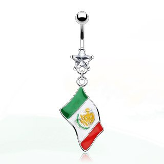 """Flag of Mexico"" Dangle."