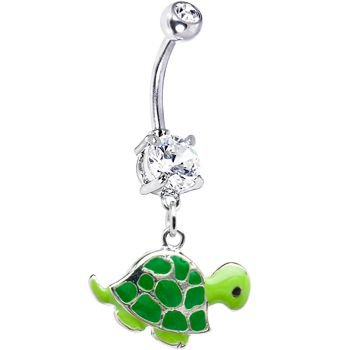Turtle Belly Ring