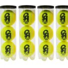 CA Plus 20 k tennis balls - tape balls - Soft balls - Cricket Balls - Practice Ball - Pack Of 12