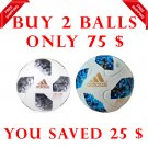 Sale Buy 2 ADIDAS TELSTAR BLACK & BLUE World Cup 2018 SOCCER MATCH BALL 5
