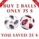Sale Buy 2 ADIDAS TELSTAR BLACK & RED World Cup 2018 SOCCER MATCH BALL 5