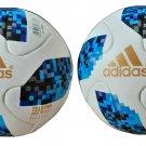 ADIDAS TELSTAR BLUE World Cup 2018 SOCCER MATCH BALL 5 Free Shipping