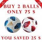Sale Buy 2 ADIDAS TELSTAR RED & BLUE World Cup 2018 SOCCER MATCH BALL 5