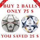 Sale Buy 2 Adidas UEFA Champions League Finale Kyiv 2018 & FINAL MILANO 2016 SOCCER MATCH BALL 5