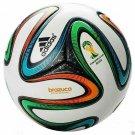 ADIDAS BRAZUCA FOOTBALL WORLD CUP 2014 SOCCER MATCH BALL 5 Free Shipping