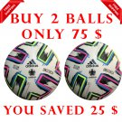 Sale Buy 2 ADIDAS UNIFORIA FIFA SOCCER MATCH BALL 5