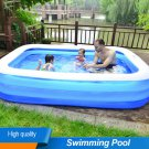 Thickened Rectangular Inflatable Pool Swimming Family Kids Childs Home Garden
