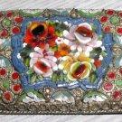 Vintage Italian Mosaic Oblong Brooch