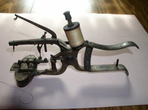 1884 Hand-Held Style Sewing Machines  Americana Unusual & Unique