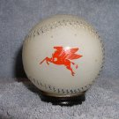 1950s Heffelfinger Glass Baseball Metal Cap Coin Bank