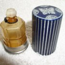 Vintage Lucretia Vanderbilt trial size perfume bottle & case