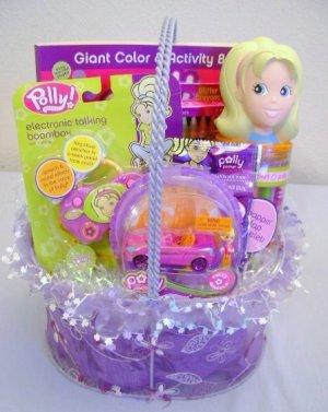 Polly Pocket Filled Gift Basket
