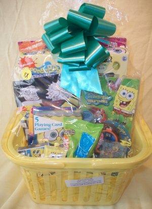 Spongebob Filled Gift Basket