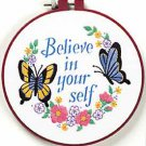 Believe in Yourself embroidery kit (floss)