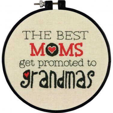 Stitch Wits Grandma Wit Embroidery Kit (hoop included)
