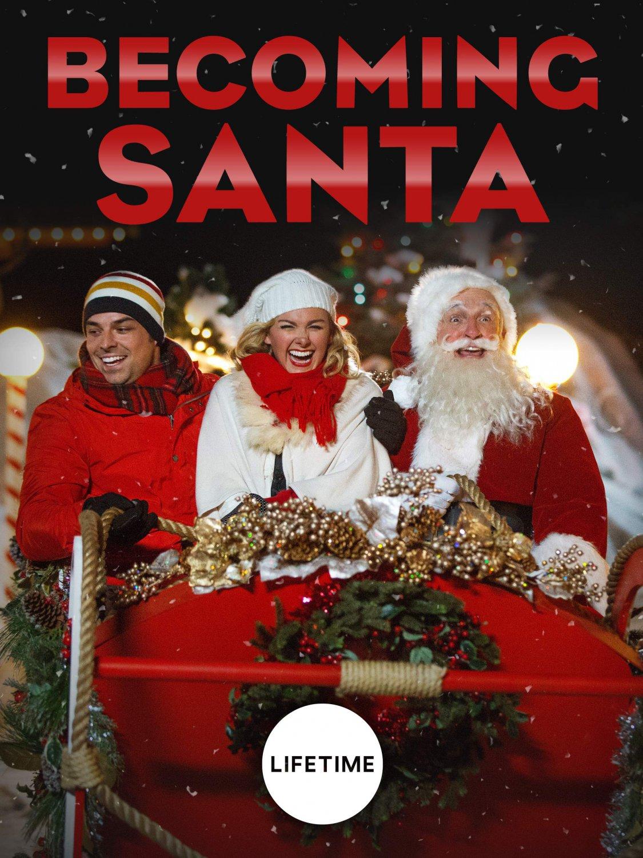 Becoming Santa DVD 2015 Lifetime Movie Laura Bell Bundy Jesse Hutch