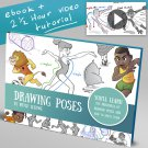 How to draw poses Art tutorials , eBooks By mitch leeuwe