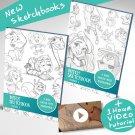 Mitch_Sketch Art tutorials , eBooks By mitch leeuwe Complete Bundle