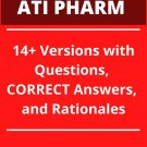 2018-2020 ATI RN Pharmacology Proctor Exams: 244 Pages