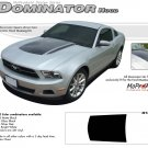 "Ford Mustang 2010 2011 2012 ""DOMINATOR HOOD"" Hood Decal Graphic and Stripes Kit"