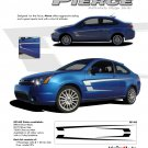 """PIERCE"" 2008-2011 Ford Focus Graphics and Stripes Kit"