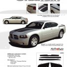 CHARGIN : 2006 2007 2008 2009 2010 Dodge Charger Hood Decals Stripes 3M Vinyl Graphics