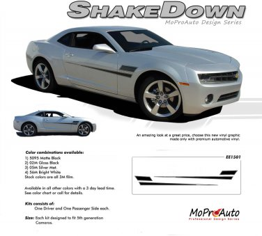SHAKEDOWN : 2010 2011 2012 2013 2014 Chevy Camaro Vinyl Graphics Kit