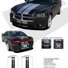 N-CHARGE RALLY : Vinyl Racing Stripes Graphics Kit for 2011 2012 2013 2014 Dodge Charger