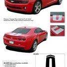 "ENERGY : 2010 2011 2012 2013 2014 Chevy Camaro ""SEMA"" Style Hood and Trunk Stripes"